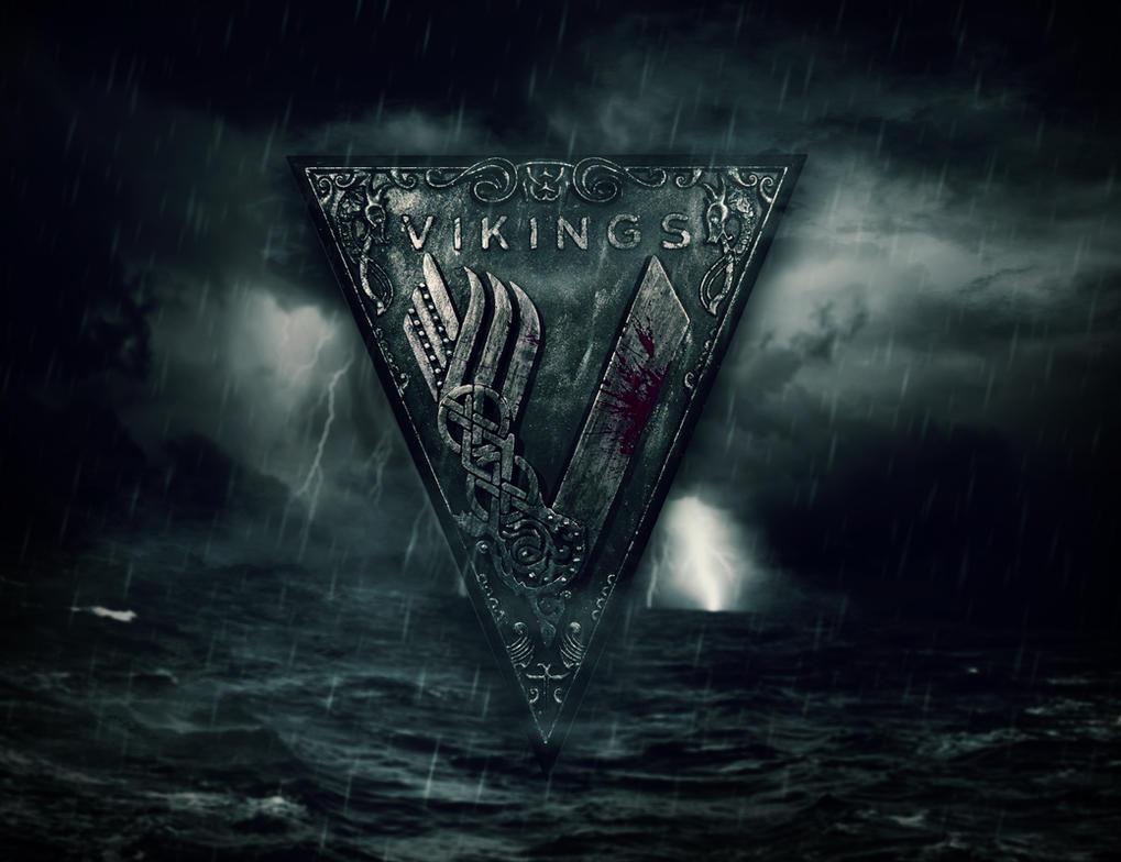 Vikings Series Logo by TodeUshlinkovski