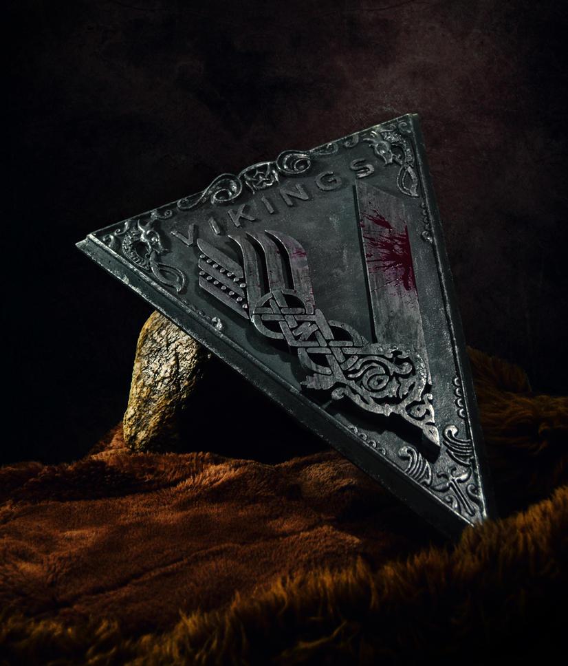 Vikings TV Series Logo by TodeUshlinkovski