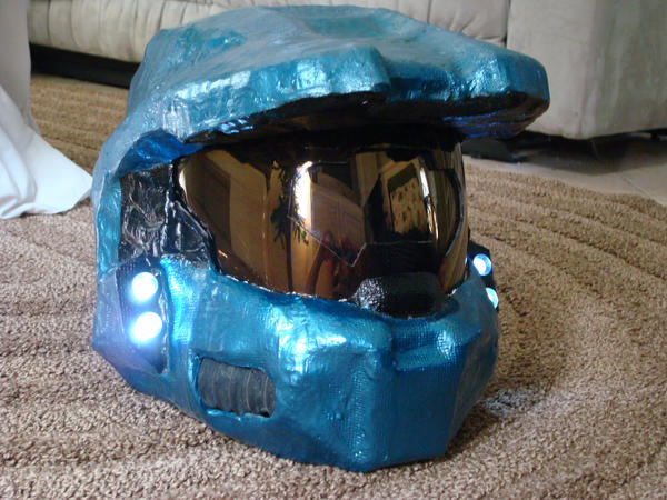 First Master Chief Helmet By MasterChief42283 On DeviantArt