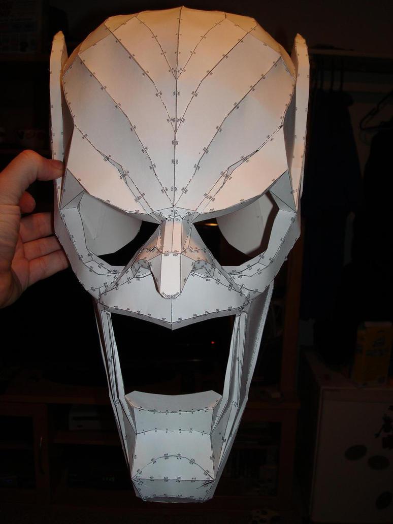Как сделать маску гоблина
