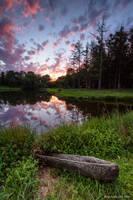 Camp Kirchenwald Sunset 1 by ryangallagherart