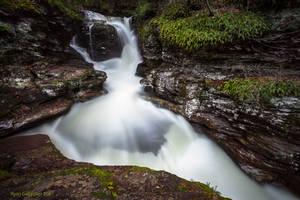 Adams Falls by ryangallagherart