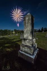 Millville Fireworks by ryangallagherart