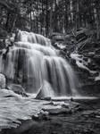 Dutchman Falls in Winter