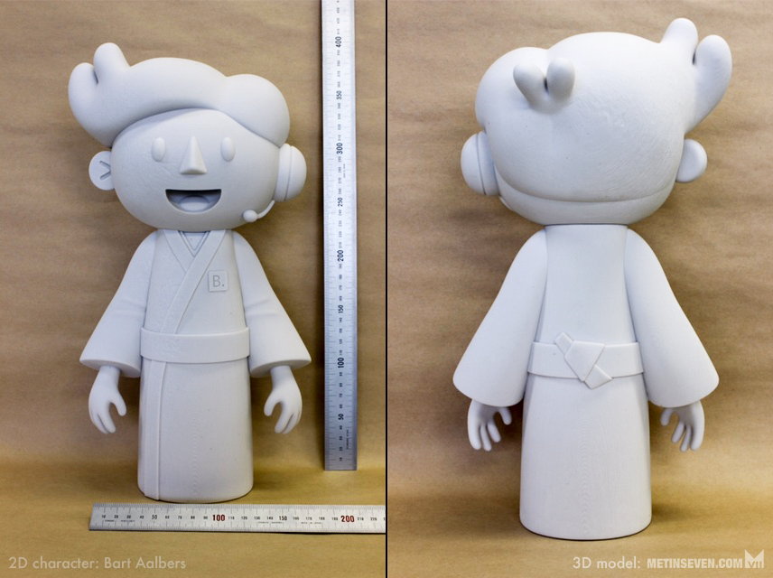 Character 3D print by m7