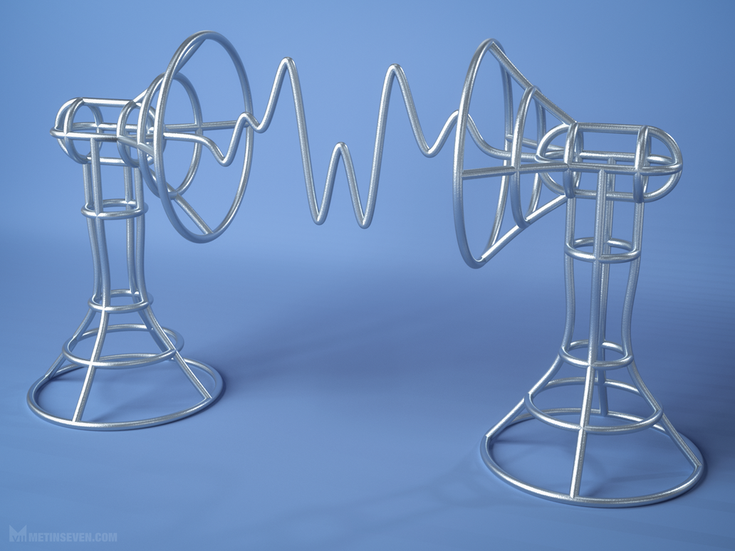 Waveform 3D-printed art object by m7