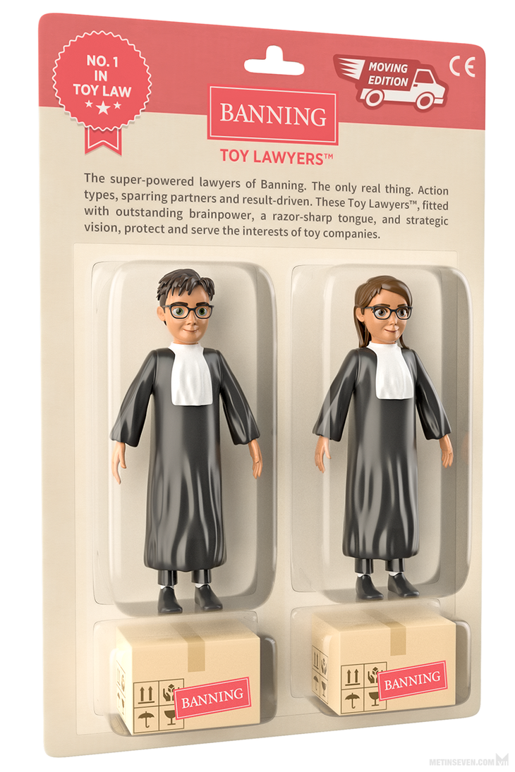 Toy lawyer action figures by m7