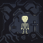 Skeleboy character design