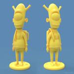 Alien 3D print model