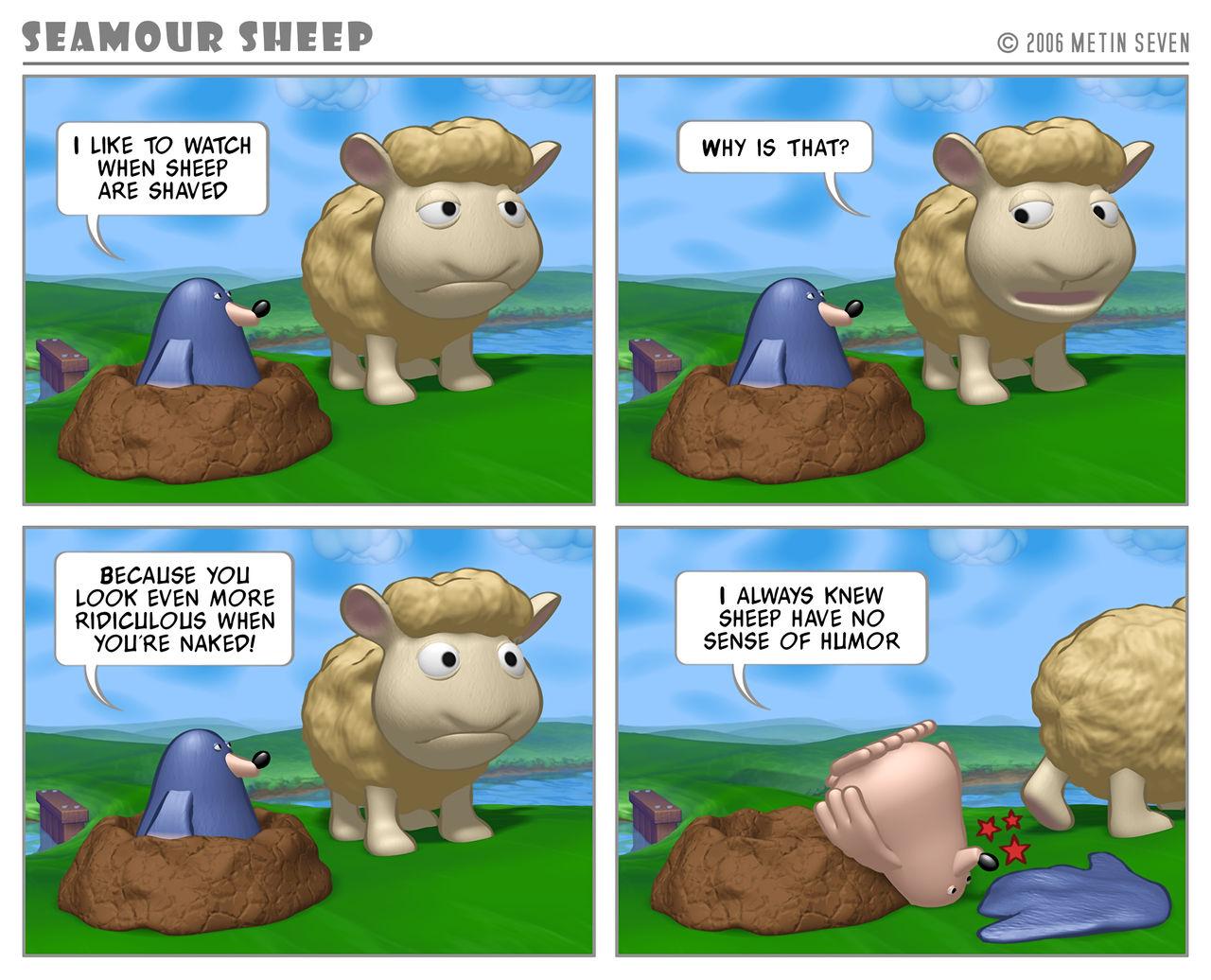 Seamour Sheep gag 0001