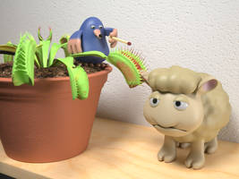 Seamour Sheep and Marty Mole toys promo 2