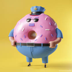 Don't mess with Donut Cop