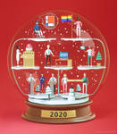 2020 3D snowglobe