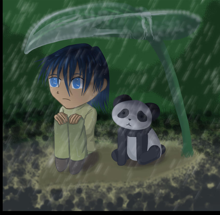 Chibi In The Rain By Chibiangle On DeviantART