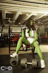 Margie Cox as She-Hulk 2