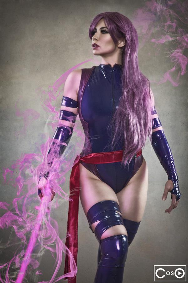 Margie Cox as Psylocke 2 by moshunman