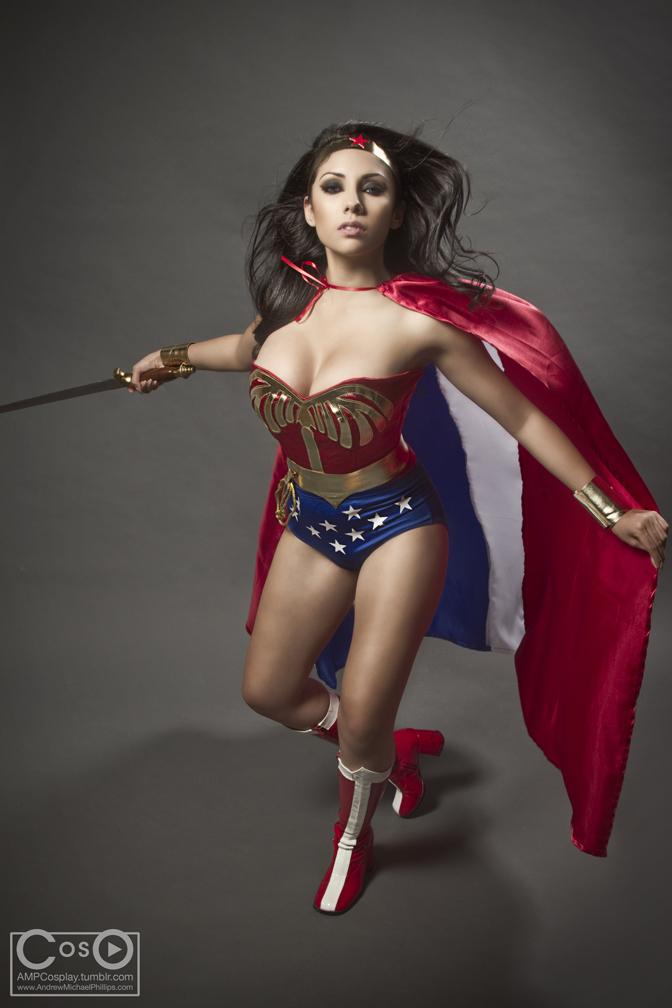 Zoraida as Wonder Woman by moshunman