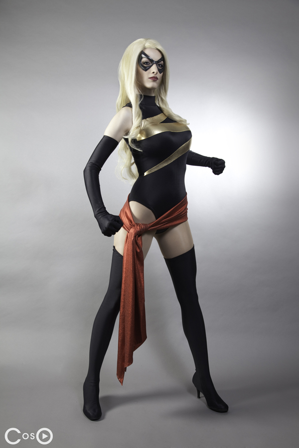 Katie George as Ms Marvel by moshunman