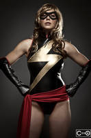 Margie Cox as Ms MArvel 2 by moshunman
