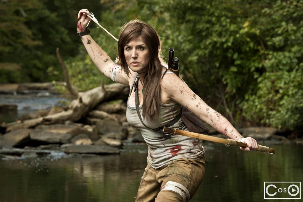 Fantasy Ninja as Tomb Raider by moshunman