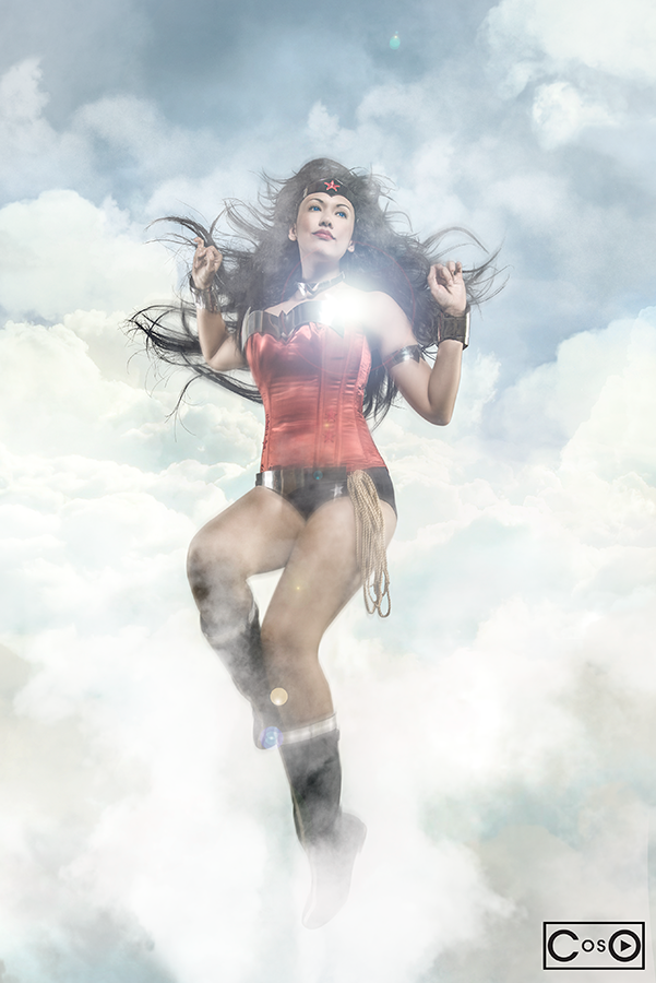 AMPCosplay New52 WW Victoria by moshunman