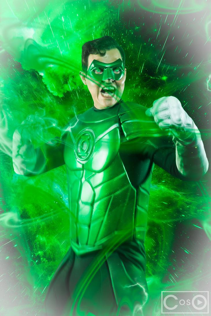 Cliff as Green Lantern by moshunman