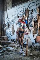 Soni Aralynn as Harley Quinn _2 by moshunman