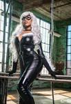 CutiePieSensei as Black Cat by moshunman