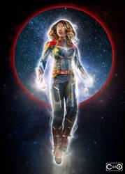 CutiePieSensei Captain Marvel 2 by moshunman