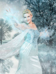 Prancingpitfiend as Classic Elsa from Frozen