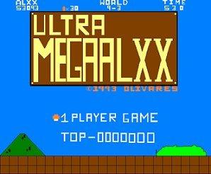 ULTRAMEGAALXX Title Screen by ULTRAMEGAALXX