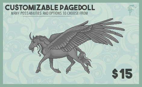P2U- Customizable Pagedoll [ON SALE!]