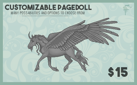 P2U- Customizable Pagedoll by FINTRON