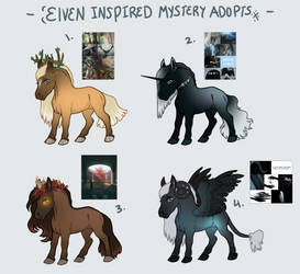 Mystery Adopts- elven inspired