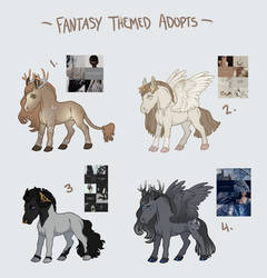 Mystery Adopts- fancy fantasy