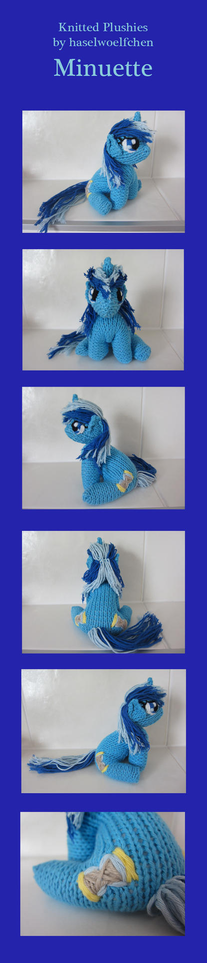 Knitted Plushies - Minuette by haselwoelfchen