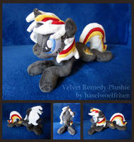 Velvet Remedy Plushie by haselwoelfchen