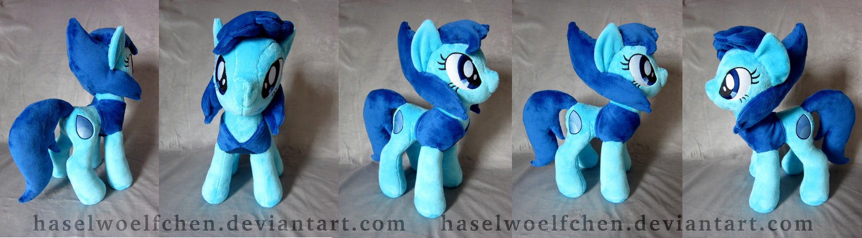 Ponyfied Lapis Lazuli Plushie by haselwoelfchen