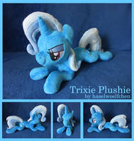 Trixie Plushie by haselwoelfchen
