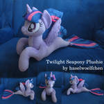 Twilight Sparkle Seapony Plushie