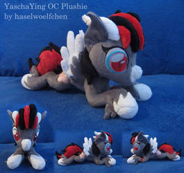 YaschaYing OC Plushie by haselwoelfchen