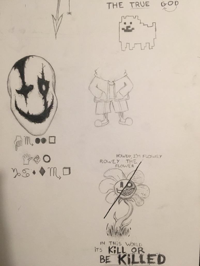 Undertale sketch by heisenberg2410