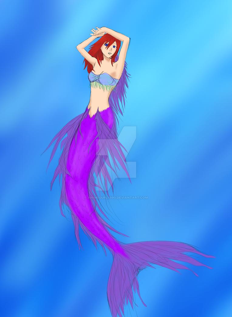 Mermaid Kairi by Animegurl1990