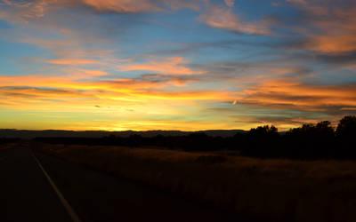 sunset II by alekswasheree