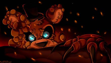 Twisted Freddy (FNaF) by KarolaTheDragon