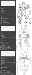 MediBang Brush Settings by Ringoleen
