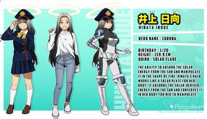 [BNHA OC] Hinata Inoue
