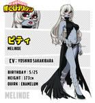 [BnHA OC] Melinoe