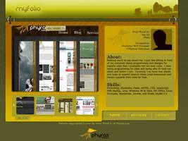 My Portfolio v2 by PhyraxDesigns