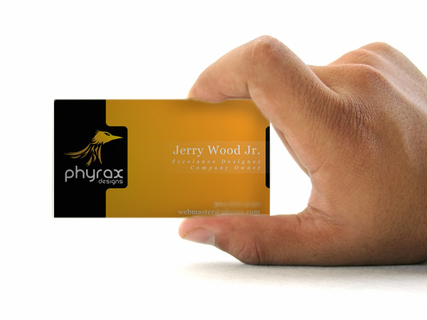 Phyrax Business Card by PhyraxDesigns